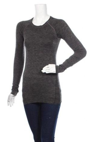 Дамска спортна блуза H&M Sport, Размер XS, Цвят Сив, Цена 6,98лв.