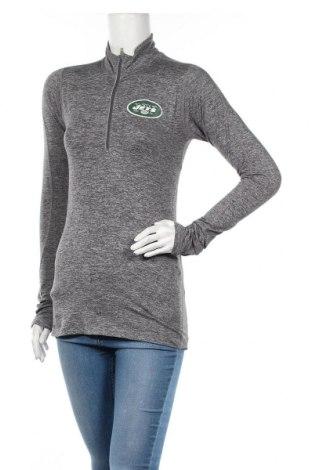 Дамска спортна блуза Nike, Размер S, Цвят Сив, Цена 10,08лв.