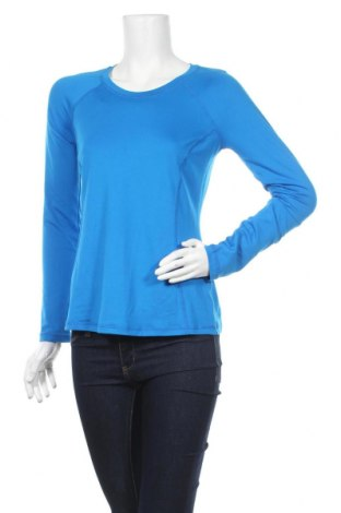Дамска спортна блуза Xersion, Размер S, Цвят Син, 93% полиестер, 7% еластан, Цена 5,04лв.
