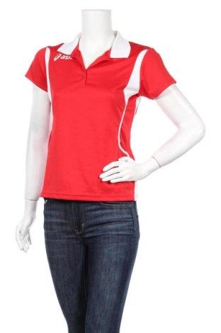 Дамска тениска ASICS, Размер S, Цвят Червен, Полиестер, Цена 13,72лв.
