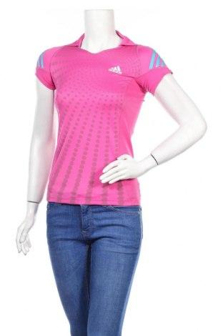 Дамска тениска Adidas, Размер XXS, Цвят Розов, Полиестер, Цена 10,05лв.