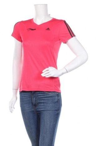 Дамска тениска Adidas, Размер S, Цвят Розов, Полиестер, Цена 14,70лв.
