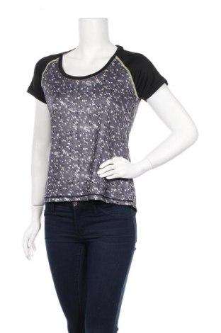 Дамска тениска Crivit, Размер M, Цвят Сив, 92% полиестер, 8% еластан, Цена 19,55лв.
