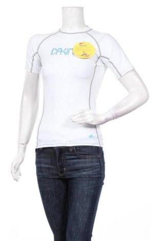 Дамска тениска Dakine, Размер S, Цвят Бял, 85% полиамид, 15% еластан, Цена 33,00лв.