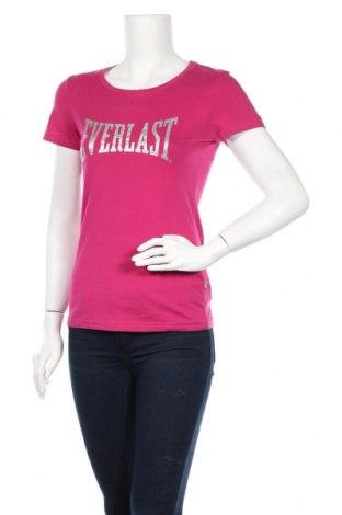 Дамска тениска Everlast, Размер S, Цвят Розов, Памук, Цена 19,50лв.