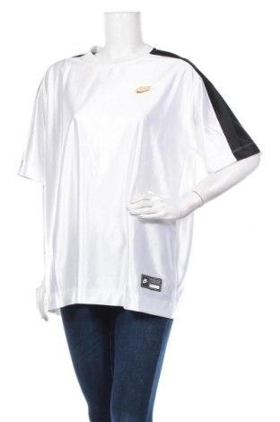 Дамска тениска Nike, Размер L, Цвят Бял, Полиестер, Цена 36,75лв.