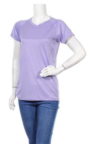 Дамска тениска Stormberg, Размер L, Цвят Лилав, 93% полиестер, 7% еластан, Цена 14,56лв.