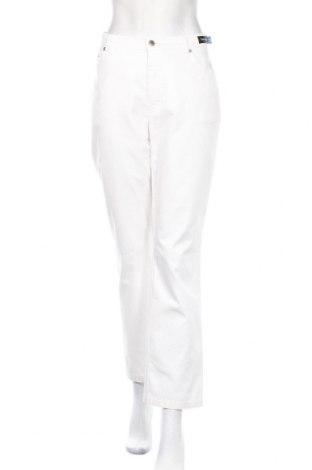 Дамски дънки Betty Barclay, Размер L, Цвят Бял, 97% памук, 3% еластан, Цена 11,25лв.