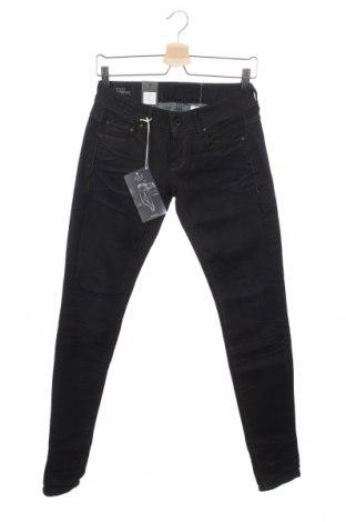 Дамски дънки G-Star Raw, Размер XS, Цвят Син, 90% памук, 8% полиестер, 2% еластан, Цена 90,82лв.