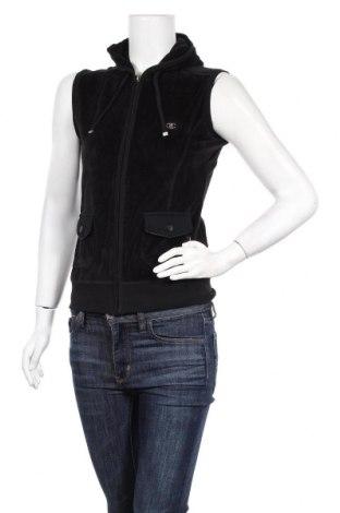 Дамски елек Champion, Размер S, Цвят Черен, 80% памук, 20% полиестер, Цена 44,25лв.