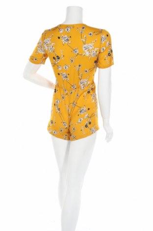 Дамски гащеризон Boohoo, Размер XXS, Цвят Жълт, Полиестер, Цена 26,25лв.