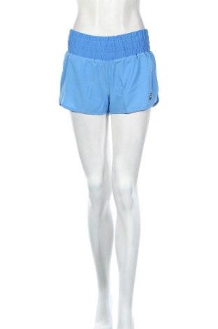 Дамски къс панталон ASICS, Размер S, Цвят Син, 93% полиестер, 7% еластан, Цена 17,92лв.