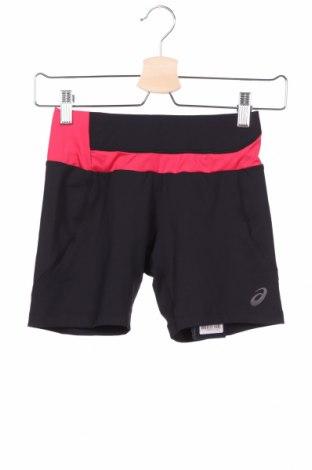 Дамски къс панталон ASICS, Размер XS, Цвят Черен, 89% полиестер, 11% еластан, Цена 46,50лв.
