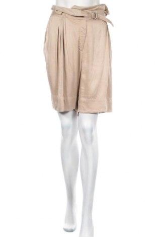 Дамски къс панталон By Malene Birger, Размер XL, Цвят Кафяв, Вискоза, Цена 16,75лв.