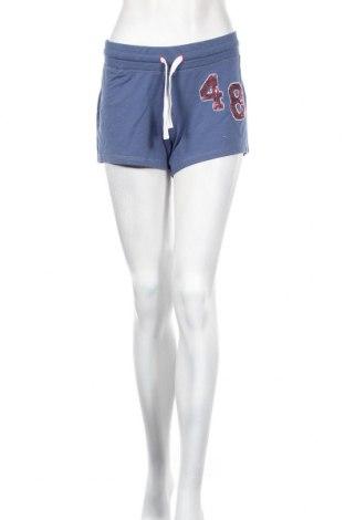 Дамски къс панталон Diadora, Размер L, Цвят Син, 64% памук, 33% полиестер, 3% еластан, Цена 11,76лв.