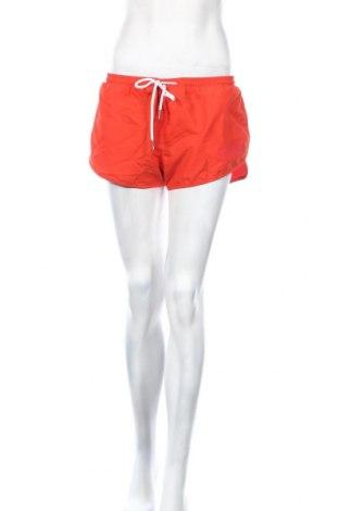 Дамски къс панталон Eleven Paris, Размер L, Цвят Оранжев, 95% полиестер, 5% еластан, Цена 12,42лв.