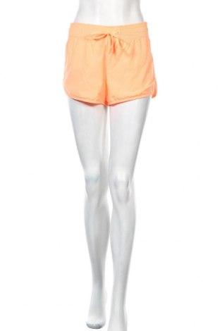 Дамски къс панталон H&M Sport, Размер M, Цвят Оранжев, Полиестер, Цена 12,00лв.
