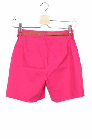 Γυναικείο κοντό παντελόνι Tom Tailor, Μέγεθος XS, Χρώμα Ρόζ , 72% βισκόζη, 24% πολυαμίδη, 4% ελαστάνη, Τιμή 16,12€