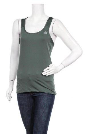 Дамски комплект Reebok, Размер M, Цвят Зелен, 92% полиестер, 8% еластан, Цена 17,36лв.
