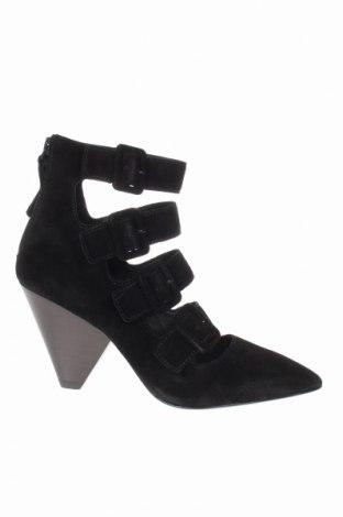 Дамски обувки Ash, Размер 36, Цвят Черен, Естествен велур, Цена 44,16лв.