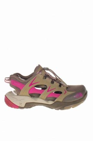 Дамски обувки The North Face, Размер 37, Цвят Бежов, Текстил, естествена кожа, Цена 34,20лв.