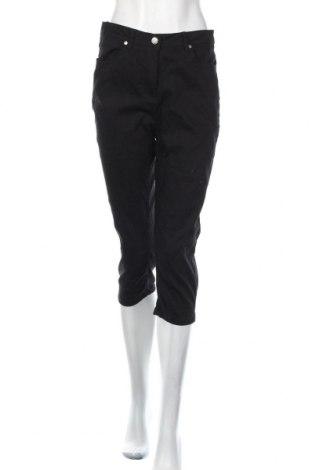 Дамски панталон Andrea, Размер M, Цвят Черен, 85% памук, 12% полиестер, 3% еластан, Цена 6,04лв.