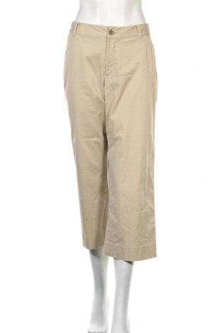 Дамски панталон Banana Republic, Размер M, Цвят Бежов, 93% памук, 7% еластан, Цена 5,80лв.