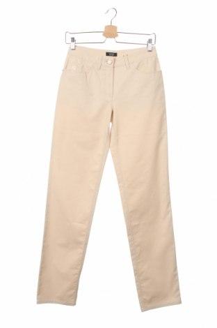 Дамски панталон Basler, Размер XS, Цвят Бежов, 98% памук, 2% еластан, Цена 27,36лв.