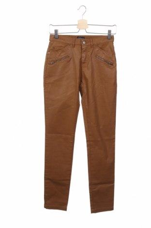 Дамски панталон Cyrillus, Размер XS, Цвят Кафяв, 97% памук, 3% еластан, Цена 30,16лв.