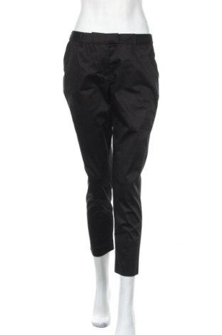 Дамски панталон Cyrillus, Размер M, Цвят Черен, 97% памук, 3% еластан, Цена 22,12лв.