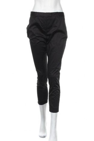 Дамски панталон Cyrillus, Размер M, Цвят Черен, 97% памук, 3% еластан, Цена 24,92лв.