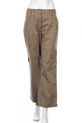 Дамски панталон Kenny S., Размер M, Цвят Зелен, 97% памук, 3% еластан, Цена 5,24лв.