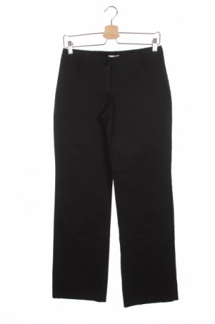 Дамски панталон Max&Co., Размер S, Цвят Черен, Памук, Цена 31,32лв.
