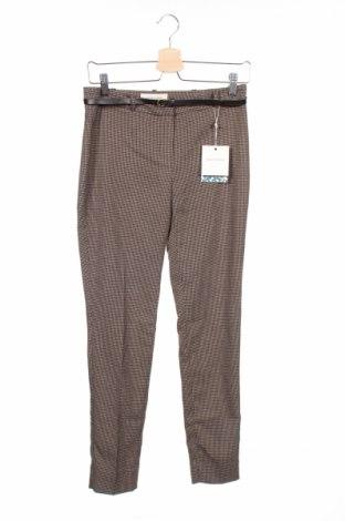 Дамски панталон Naf Naf, Размер XS, Цвят Бежов, 64% полиестер, 34% вискоза, 2% еластан, Цена 22,25лв.