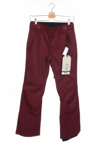 Дамски панталон за зимни спортове Billabong, Размер XS, Цвят Червен, Полиестер, Цена 100,80лв.