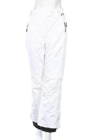 Дамски панталон за зимни спортове Crivit, Размер L, Цвят Бял, Полиестер, Цена 15,23лв.
