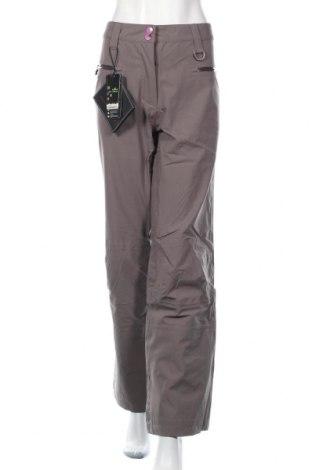 Дамски панталон за зимни спортове Jeff Green, Размер L, Цвят Сив, Полиестер, Цена 131,97лв.