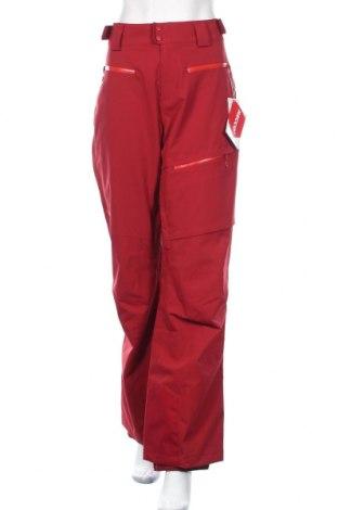 Дамски панталон за зимни спортове Marmot, Размер XL, Цвят Червен, Полиамид, Цена 141,75лв.