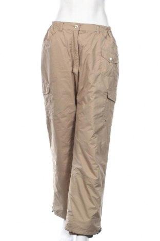 Дамски панталон за зимни спортове Out 4 Living, Размер L, Цвят Бежов, Полиестер, Цена 16,28лв.
