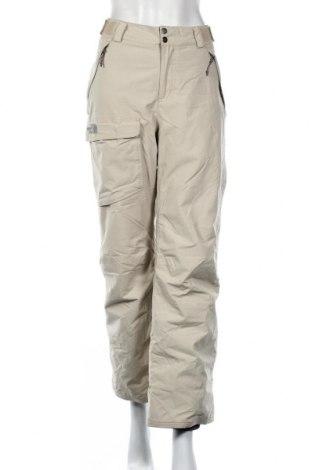 Дамски панталон за зимни спортове The North Face, Размер M, Цвят Екрю, Полиамид, Цена 30,87лв.