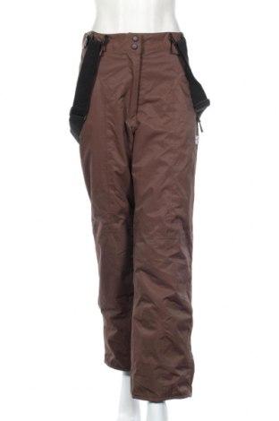 Дамски панталон за зимни спортове Top Tex, Размер M, Цвят Кафяв, Полиамид, Цена 14,18лв.