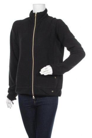 Дамски поларен суичър Champion, Размер XL, Цвят Черен, 97% полиестер, 3% еластан, Цена 48,00лв.