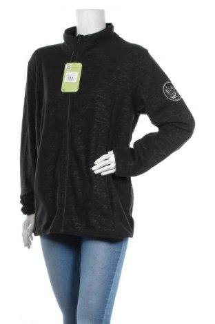 Дамски поларен суичър Longboard, Размер XL, Цвят Черен, Полиестер, Цена 51,75лв.