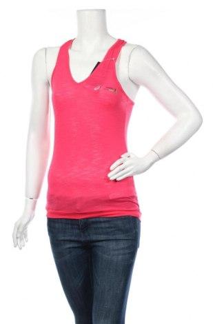 Дамски потник ASICS, Размер XS, Цвят Розов, Полиестер, вискоза, памук, Цена 34,50лв.