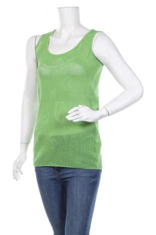 Γυναικείο αμάνικο μπλουζάκι Little Marcel, Μέγεθος XS, Χρώμα Πράσινο, Βαμβάκι, Τιμή 6,43€