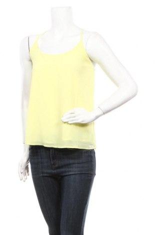 Γυναικείο αμάνικο μπλουζάκι Little Marcel, Μέγεθος M, Χρώμα Κίτρινο, Πολυεστέρας, Τιμή 5,32€
