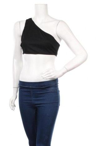 Γυναικείο αμάνικο μπλουζάκι Nasty Gal, Μέγεθος M, Χρώμα Μαύρο, 92% πολυεστέρας, 8% ελαστάνη, Τιμή 5,76€