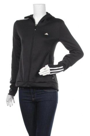 Дамски суичър Adidas, Размер M, Цвят Черен, Полиестер, Цена 49,25лв.