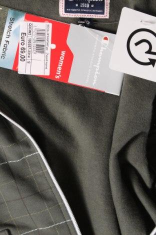 Дамски суичър Champion, Размер S, Цвят Зелен, 93% памук, 7% еластан, Цена 59,25лв.