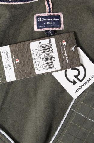 Дамски суичър Champion, Размер L, Цвят Зелен, 93% памук, 7% еластан, Цена 59,25лв.